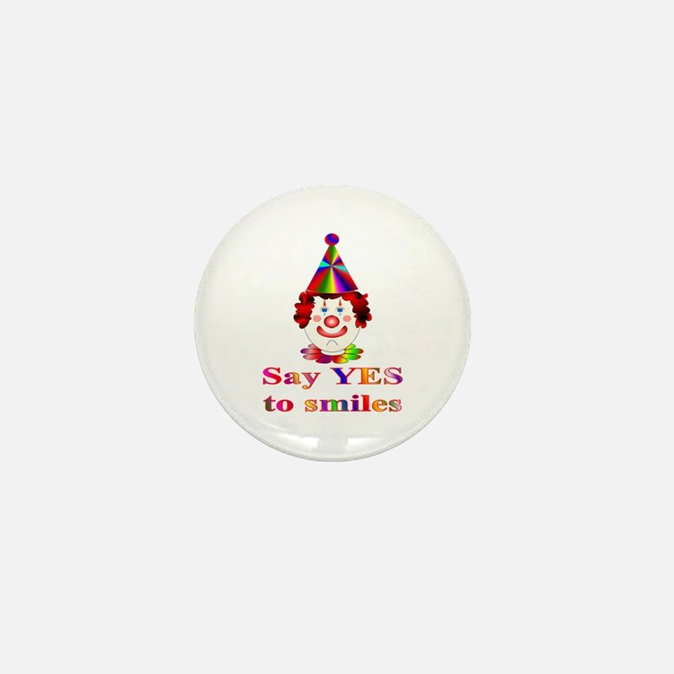 Smiles Mini Button