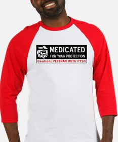 Medicated for Your Protection Baseball Jersey