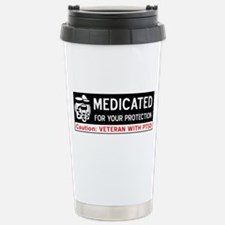 Medicated for Your Protection Stainless Steel Trav
