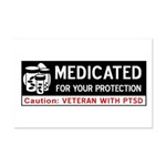 Medicated for Your Protection Mini Poster Print