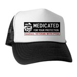 Medicated for Your Protection Trucker Hat