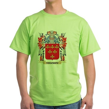 Todorov Coat of Arms - Family Crest T-Shirt