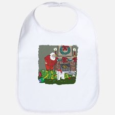 Santa's Helper Bichon Frise Bib