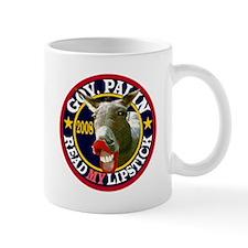 Gov. Palin, Read MY Lipstick Mug