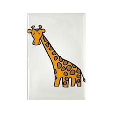 Giraffe Rectangle Magnet (10 pack)