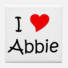 Unique Abbie Tile Coaster