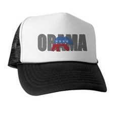 Obama Biden '08 Polar Bear De Trucker Hat
