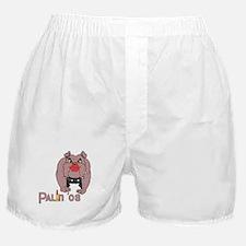 Palin PitBull with Lipstick Boxer Shorts
