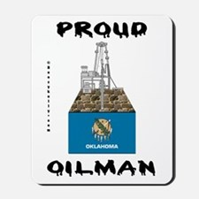 Oklahoma Oilman Mousepad