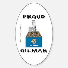 Oklahoma Oilman Oval Decal