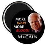 More War! More Blood! McCain Magnet