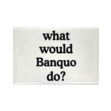 Banquo Rectangle Magnet
