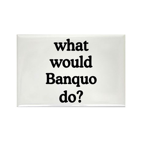 Banquo Rectangle Magnet (100 pack)
