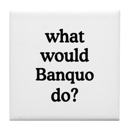 Banquo Tile Coaster