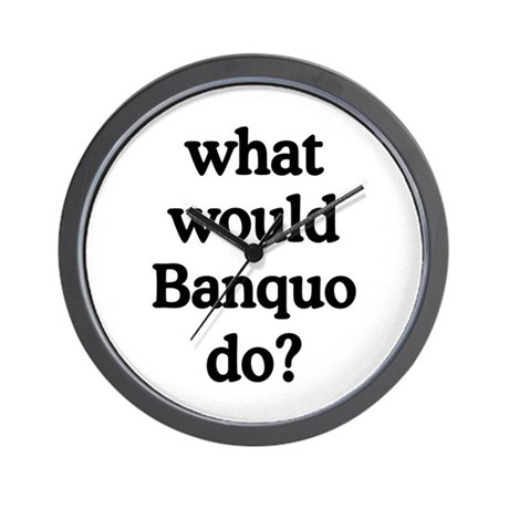 Banquo Wall Clock