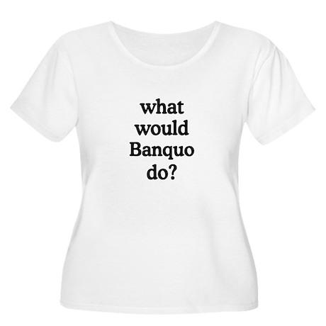 Banquo Women's Plus Size Scoop Neck T-Shirt