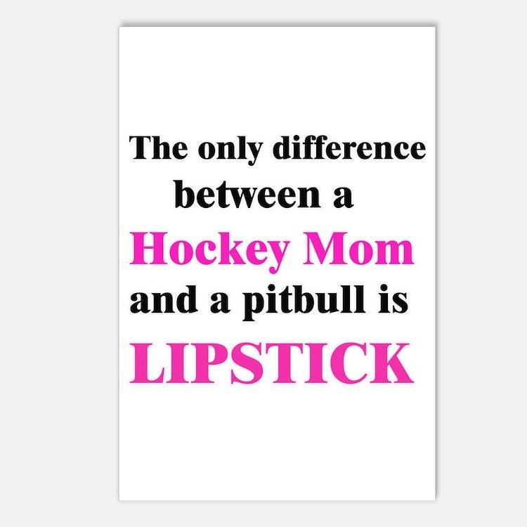 Palin Hockey Mom Pitbull Lipstick Postcards (Packa