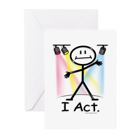 BusyBodies Actor Greeting Cards (Pk of 10)