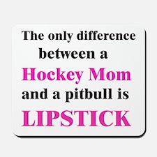 Palin Hockey Mom Pitbull Lipstick Mousepad