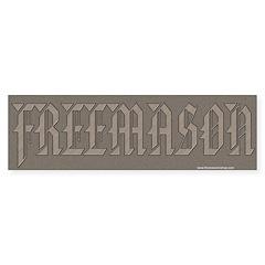 The Freemasons Bumper Bumper Sticker