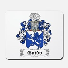 Guido Family Crest Mousepad