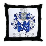 Guido Family Crest Throw Pillow