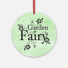 Garden Fairy Ornament (Round)
