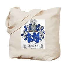 Guido Family Crest Tote Bag