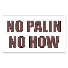 Anti Palin Decal