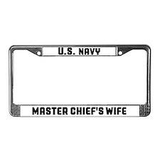 Cute Master License Plate Frame