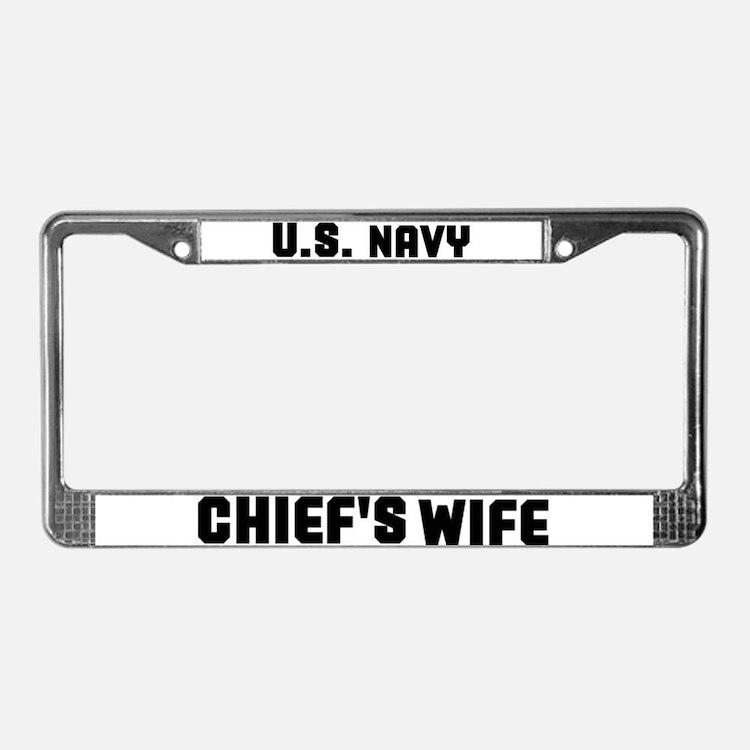Cute Chiefs License Plate Frame
