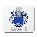 Impellizzeri Family Crest Mousepad