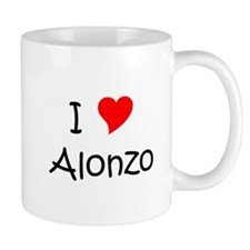 Cute I love alonzo Mug