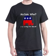McCain Who? T-Shirt
