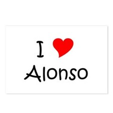 Unique Alonso Postcards (Package of 8)