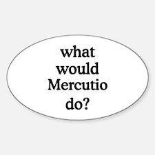 Mercutio Oval Decal