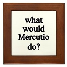 Mercutio Framed Tile