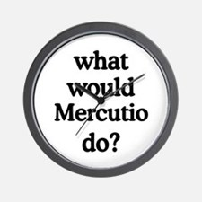 Mercutio Wall Clock