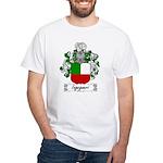 Ingegneri Family Crest White T-Shirt