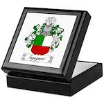 Ingegneri Family Crest Keepsake Box