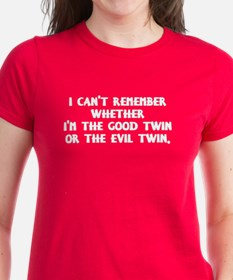 Good Twin or Evil Twin? Tee