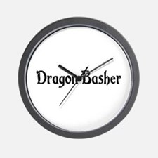 Dragon Basher Wall Clock