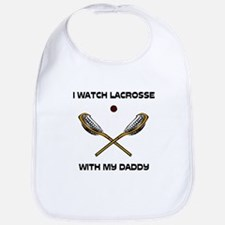 Watch Lacrosse With Daddy Bib