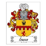 Isacco Family Crest Small Poster