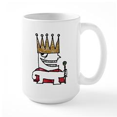 Little King Large Mug
