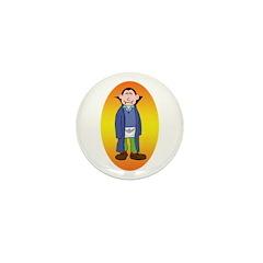 The Happy Mason Vampire Mini Button (10 pack)