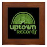 Uptown Records Framed Tile