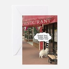 Doggy Bag! Doggy Bag! Greeting Card