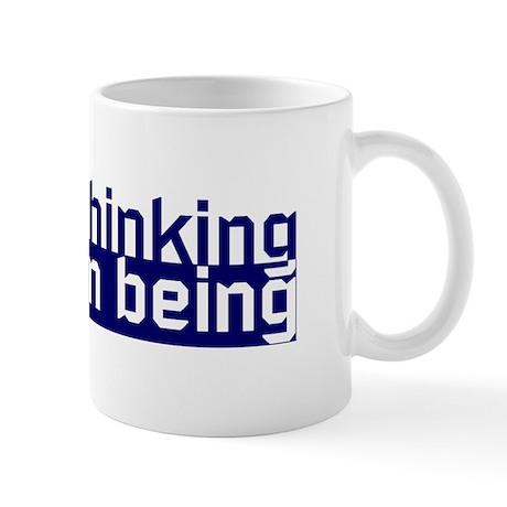 Free Thinking Human Being Mug