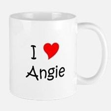 Cute I love angie Mug